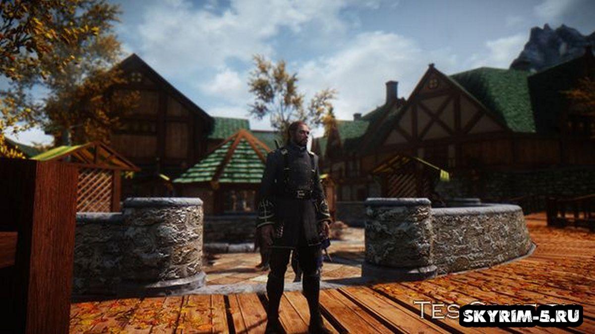 Униформа Смотрителя из Dishonored -