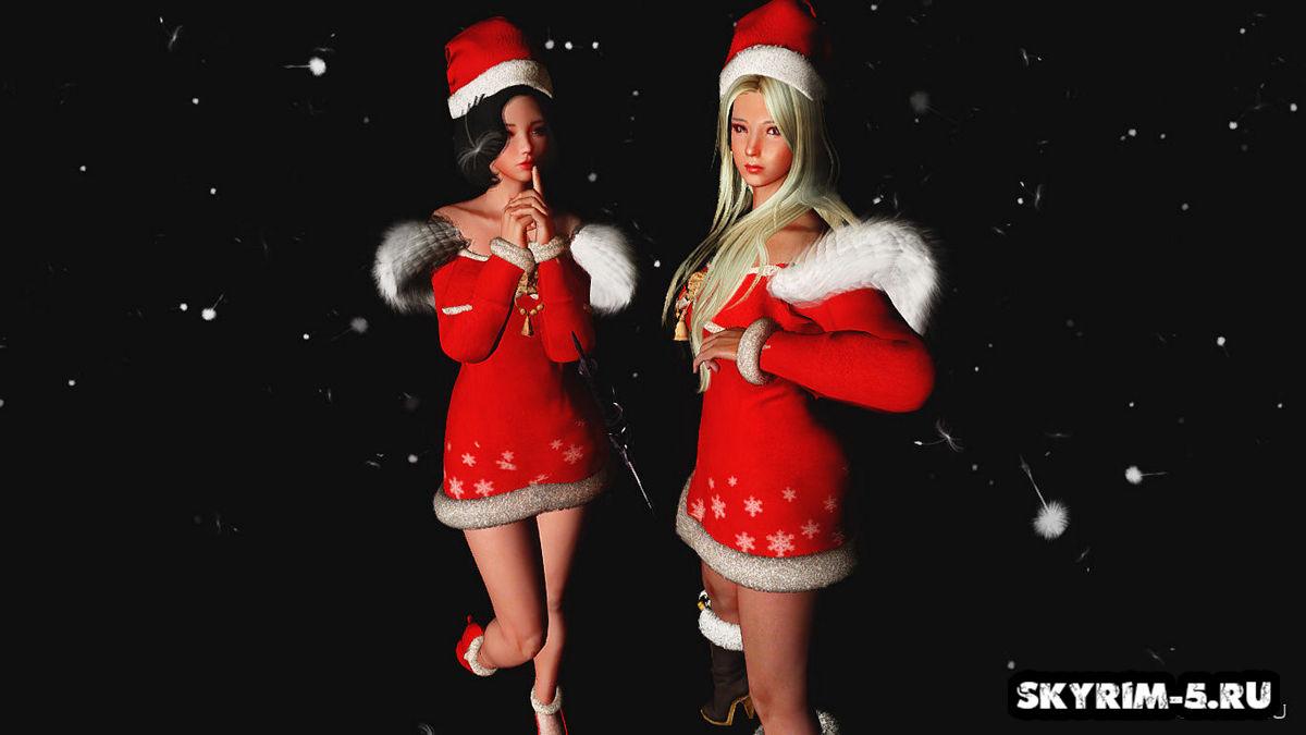 Новогоднее одеяние - CBBE