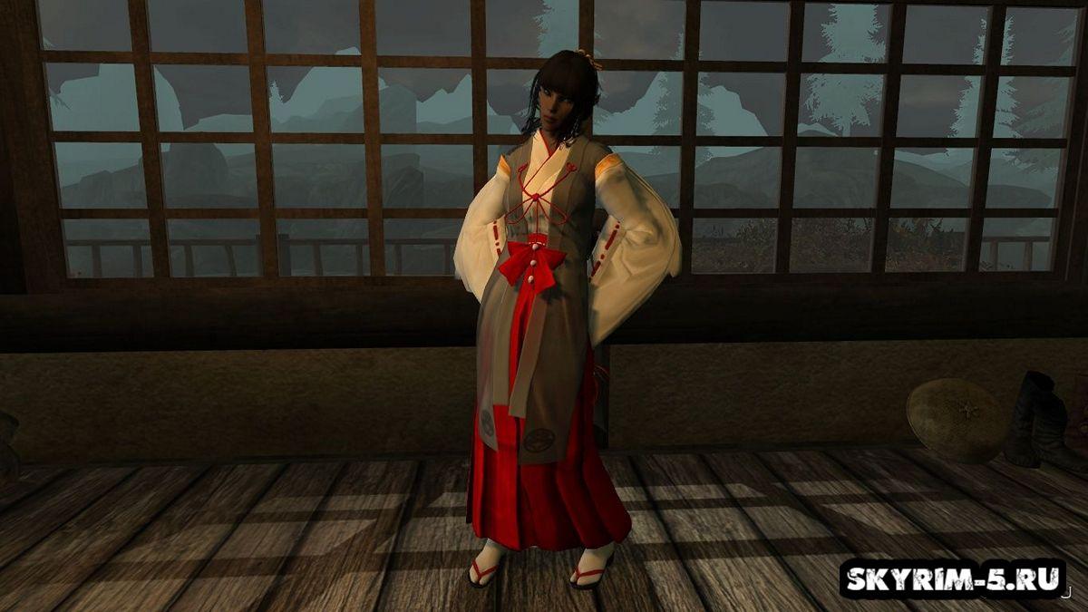 Одеяние Мико -