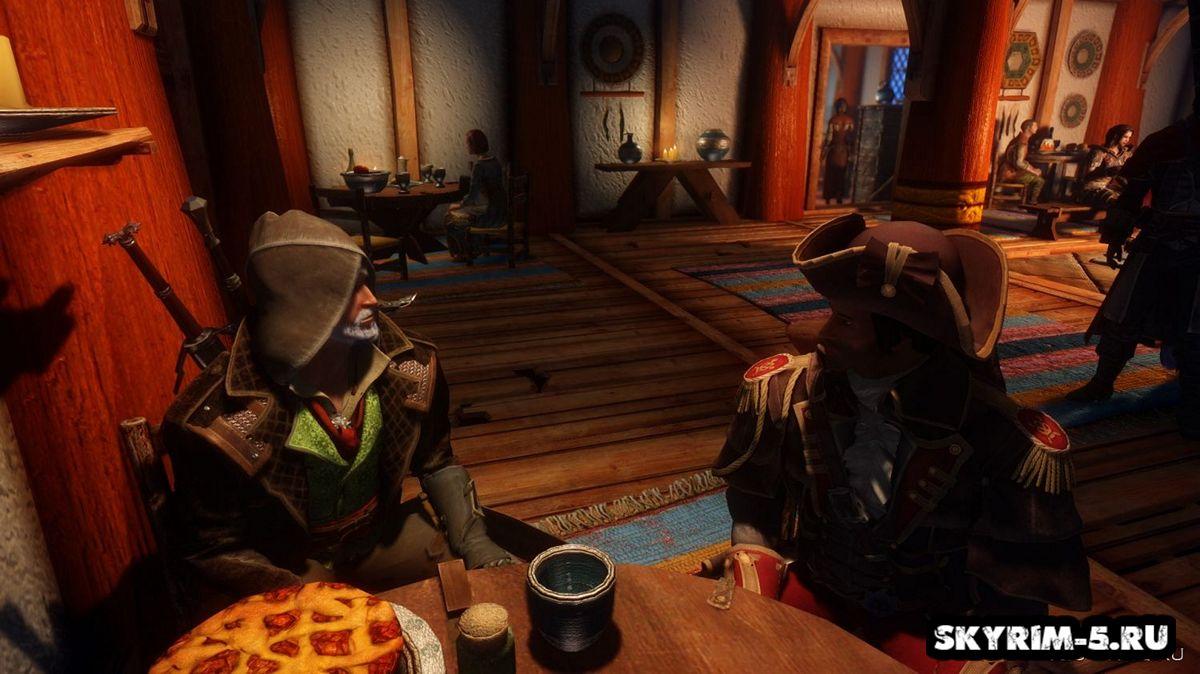 Костюм Джорджа Монро из Assassin's Creed RogueМоды Скайрим > Броня и одежда Скайрим