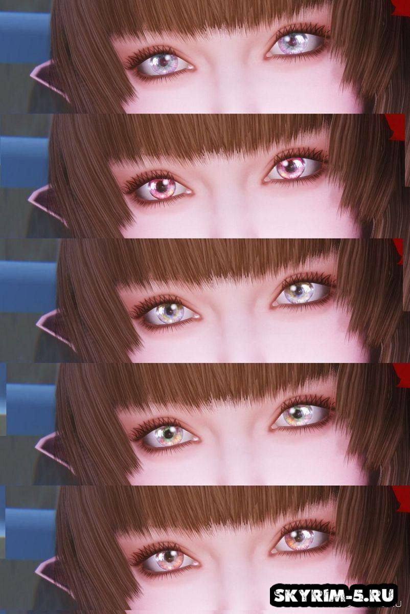 Новые глаза от Mikan -