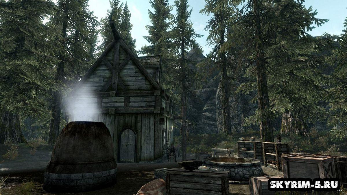 Новая локация - Посёлок Поляна -