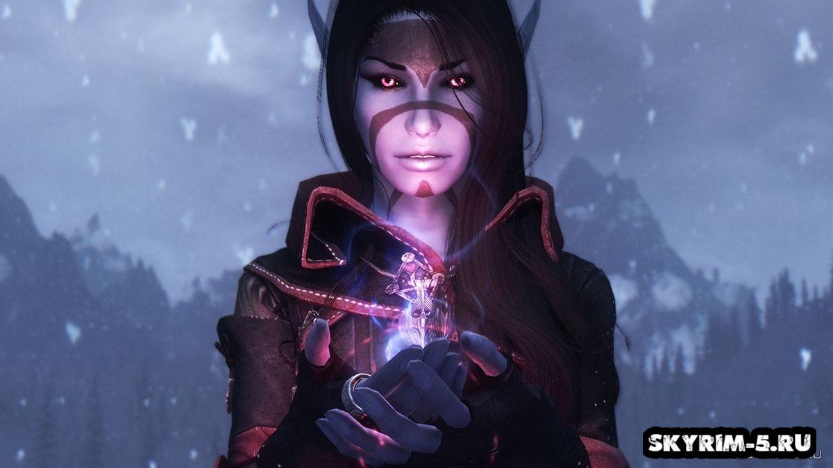 Ксари - Темная эльфийкаМоды Скайрим > Компаньоны Скайрим
