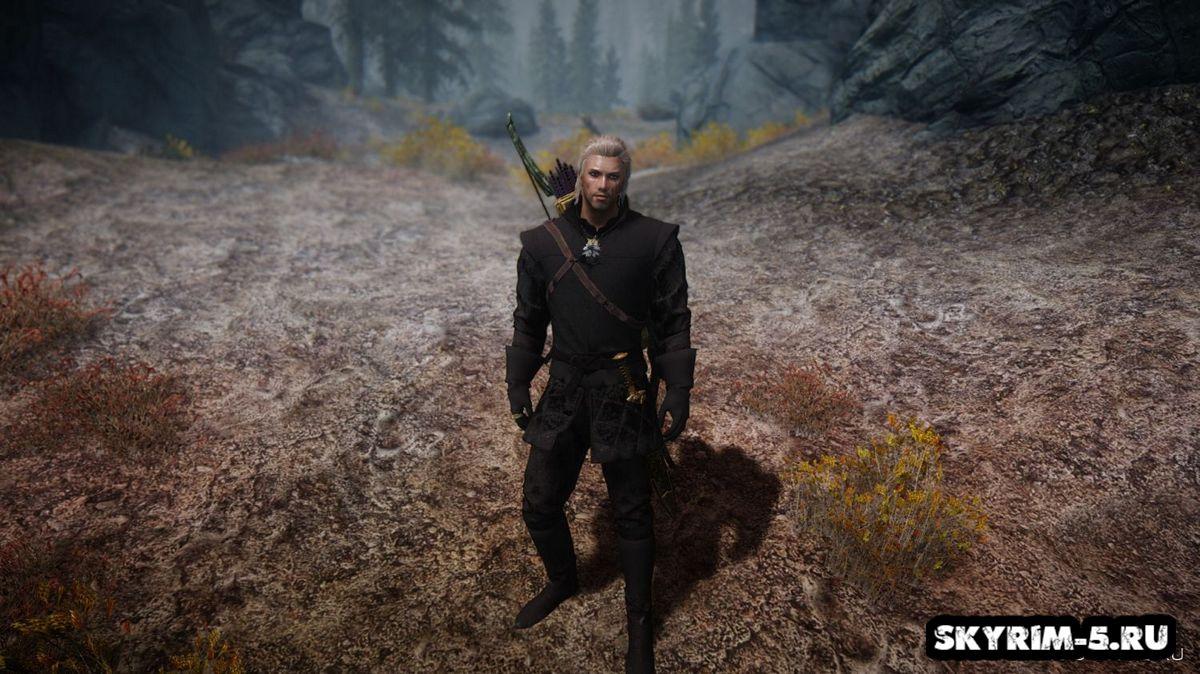 Лунные доспехи - The Witcher 3Моды Скайрим > Броня и одежда Скайрим