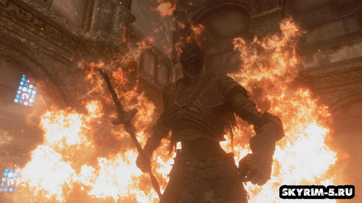 Пепельная броня - Dark Souls 3Моды Скайрим > Броня и одежда Скайрим