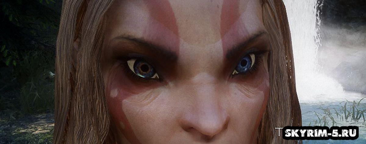 Улучшенные глаза в Скайриме
