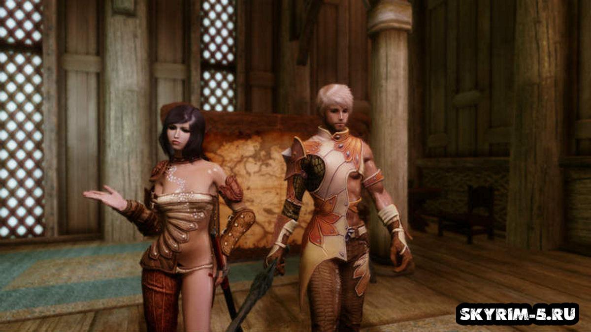 Коллекция Брони (Одежды) из игры TERAМоды Скайрим > Броня и одежда Скайрим