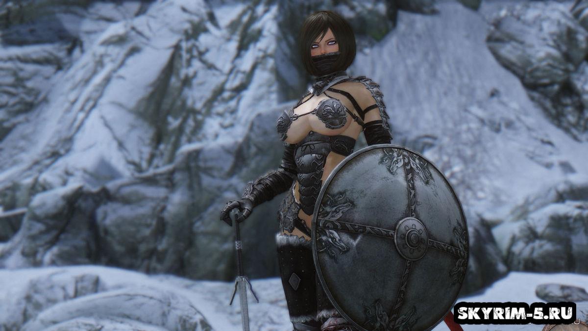 Волчья броня БикиниМоды Скайрим > Броня и одежда Скайрим