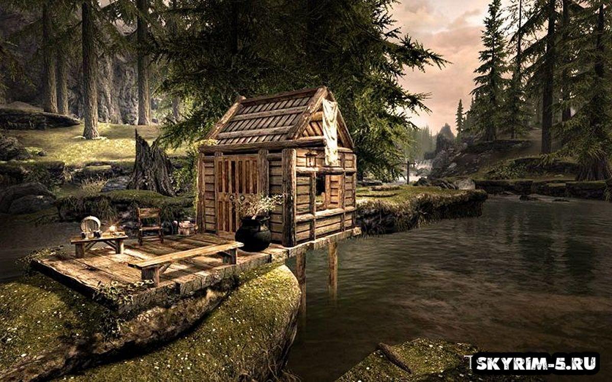 Простая лачугаМоды Скайрим > Дома и локации Скайрим