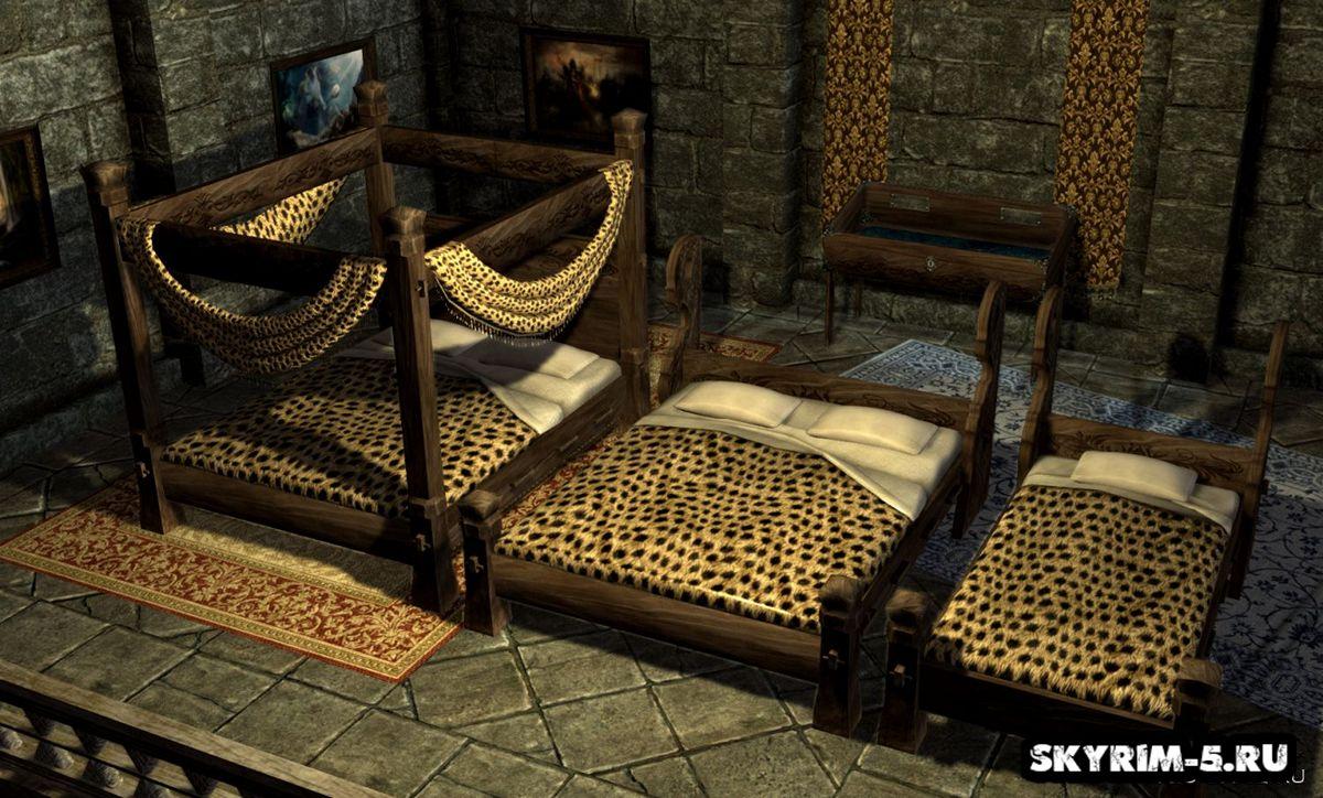 Знатные кровати HD -
