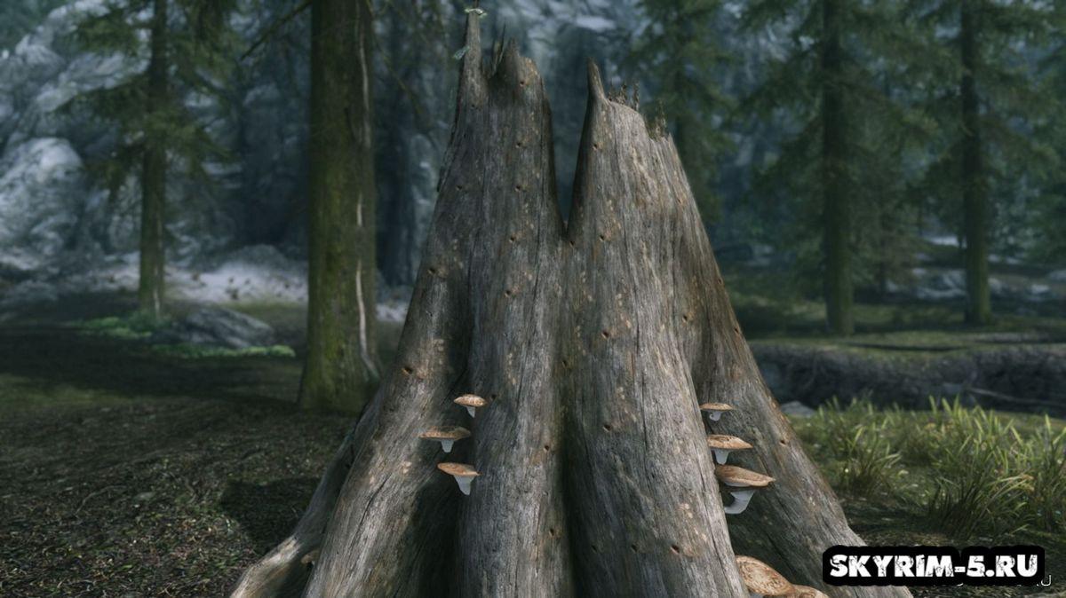 Кора деревьев - альтернативные текстуры -