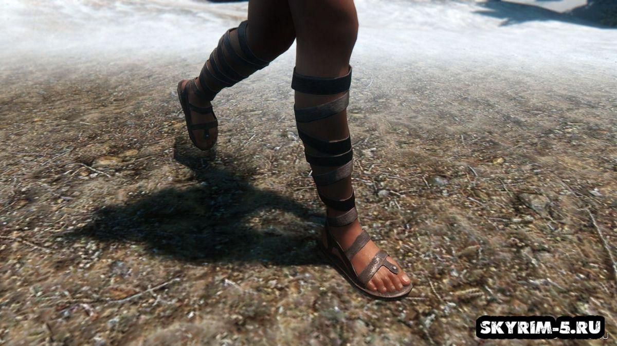 Кожаные сандалии -