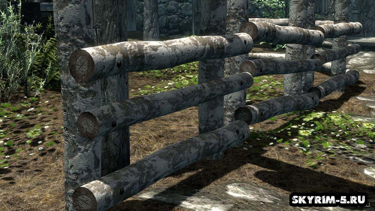 HD 3D забор -