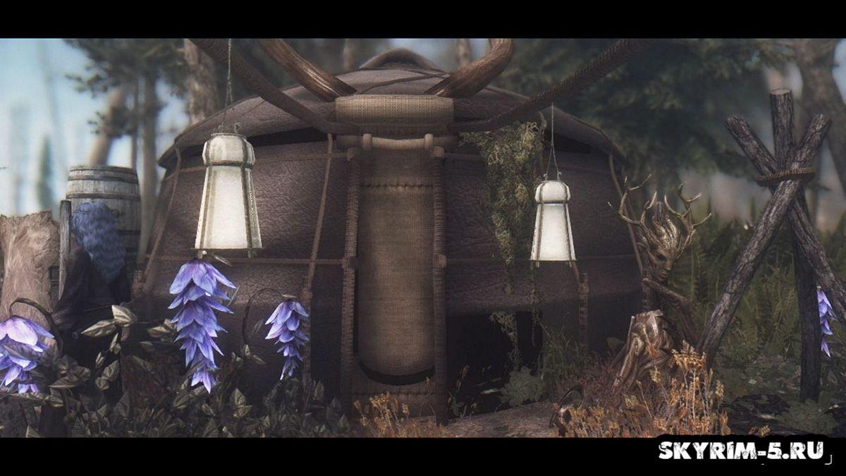 Хижина некромантаМоды Скайрим > Дома и локации Скайрим