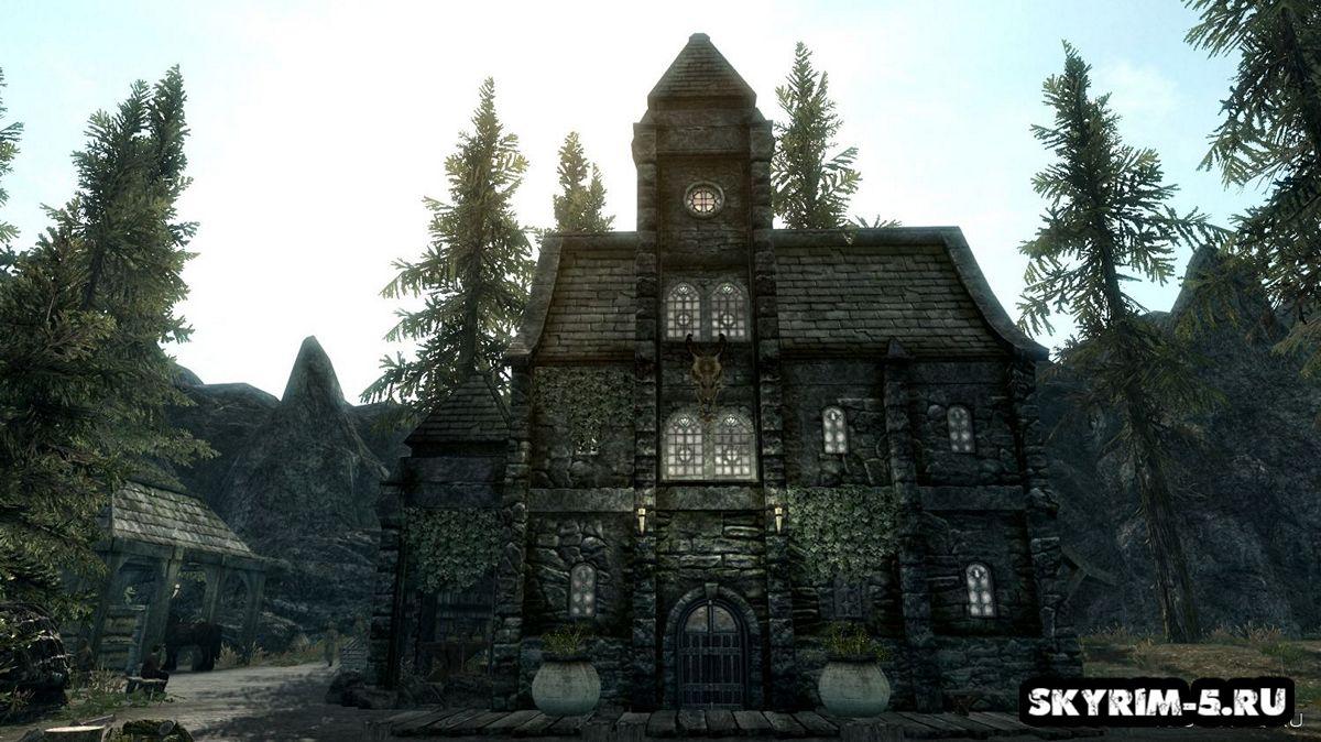 Новая локация - Посёлок ПолянаМоды Скайрим > Дома и локации Скайрим
