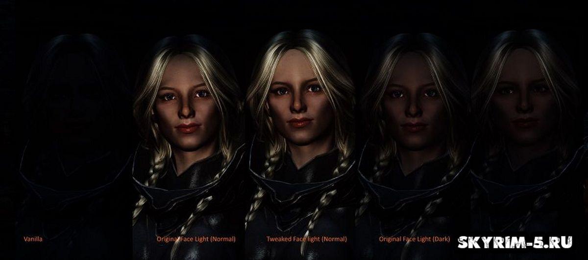 Улучшенное освещение лица для Face Light
