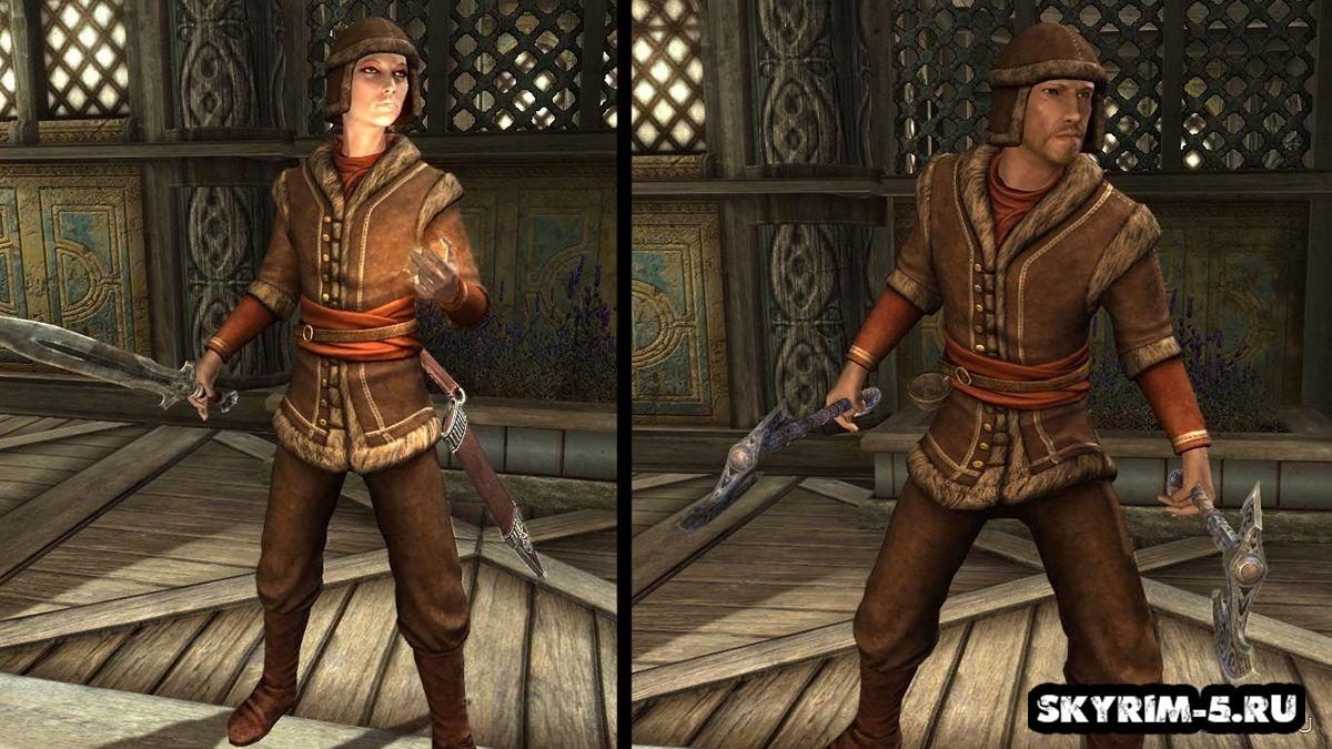 Коловианская меховая броня и одеждаМоды Скайрим > Броня и одежда Скайрим