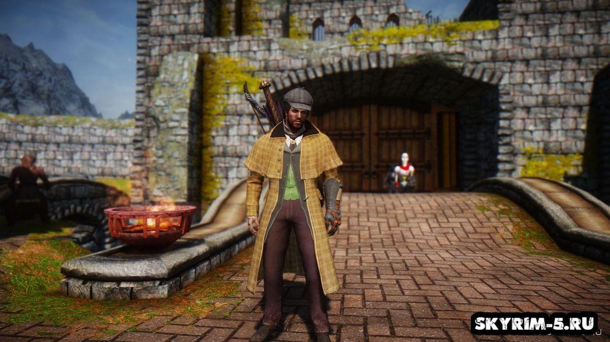 Костюм охотника из Assassin's Creed: SyndicateМоды Скайрим > Броня и одежда Скайрим
