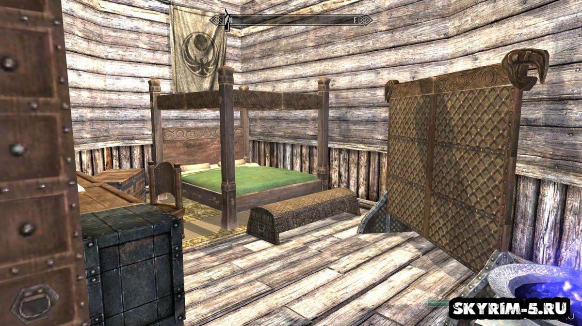 Комната главы гильдииМоды Скайрим > Дома и локации Скайрим