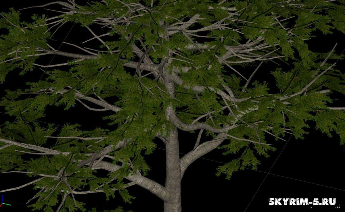HD сосна - Все деревоМоды Скайрим > Прочее Скайрим