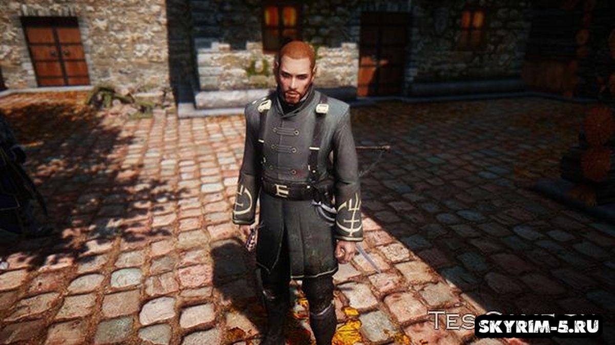 Униформа Смотрителя из DishonoredМоды Скайрим > Броня и одежда Скайрим