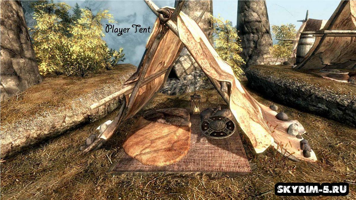 Лагеря Скайрима - Торговцы Каджиты -