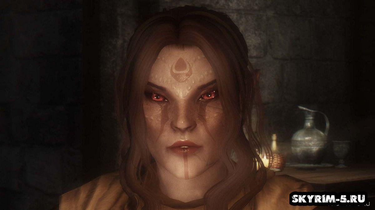 Чарующие глаза для эльфов мужчин -