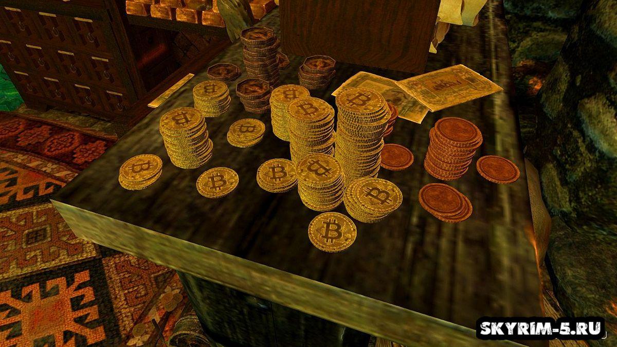 Ретекстур валюты в Биткоин -