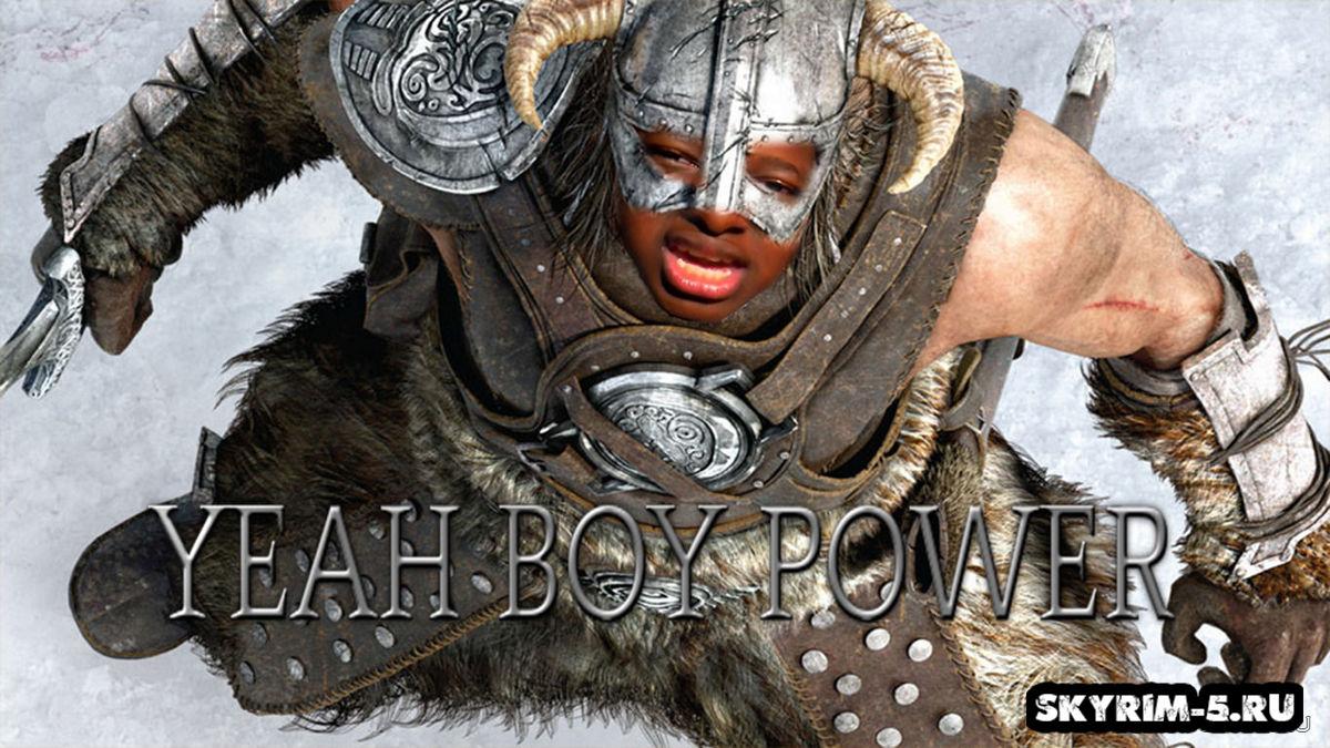 YEAH BOY POWER