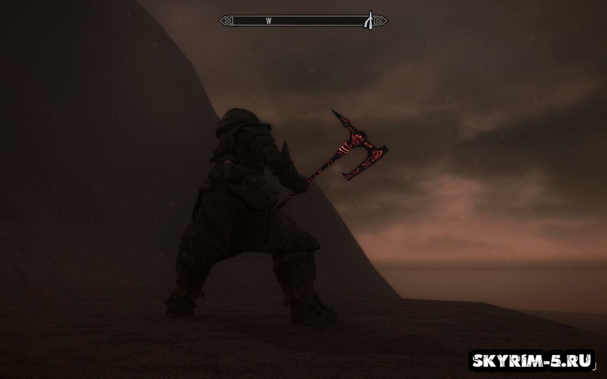 Даэдрическое нордское оружие героя -