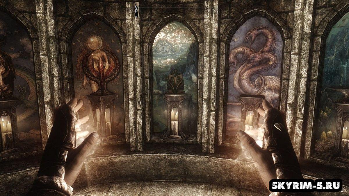 Фрески Храма Богов -