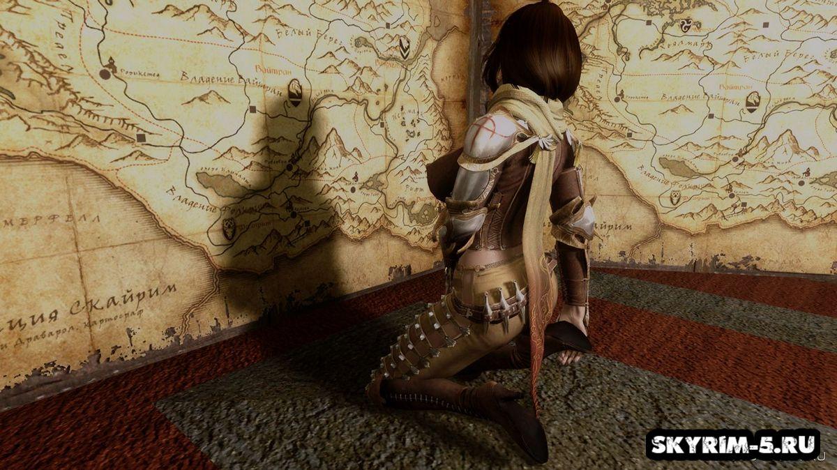 2 Наряда Рейнджера из Black Desert OnlineМоды Скайрим > Броня и одежда Скайрим