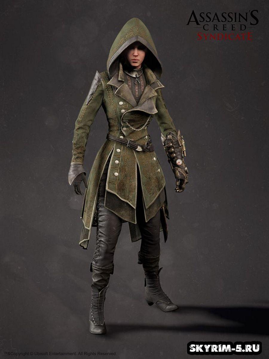 Одеяние Лидии - Assassin's Creed SyndicateМоды Скайрим > Броня и одежда Скайрим