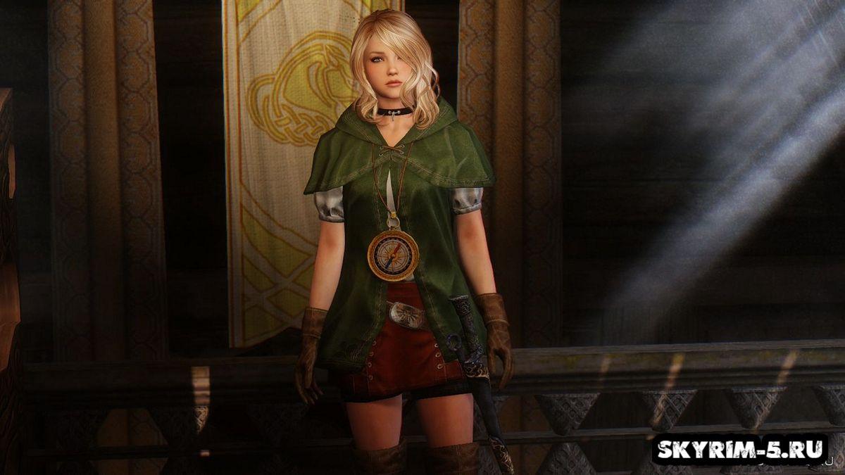 Одеяние Линкл из Hyrule Warriors -
