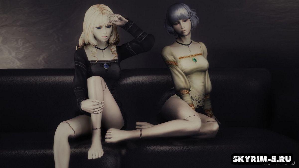 China Doll RaceМоды Скайрим > Расы Скайрим