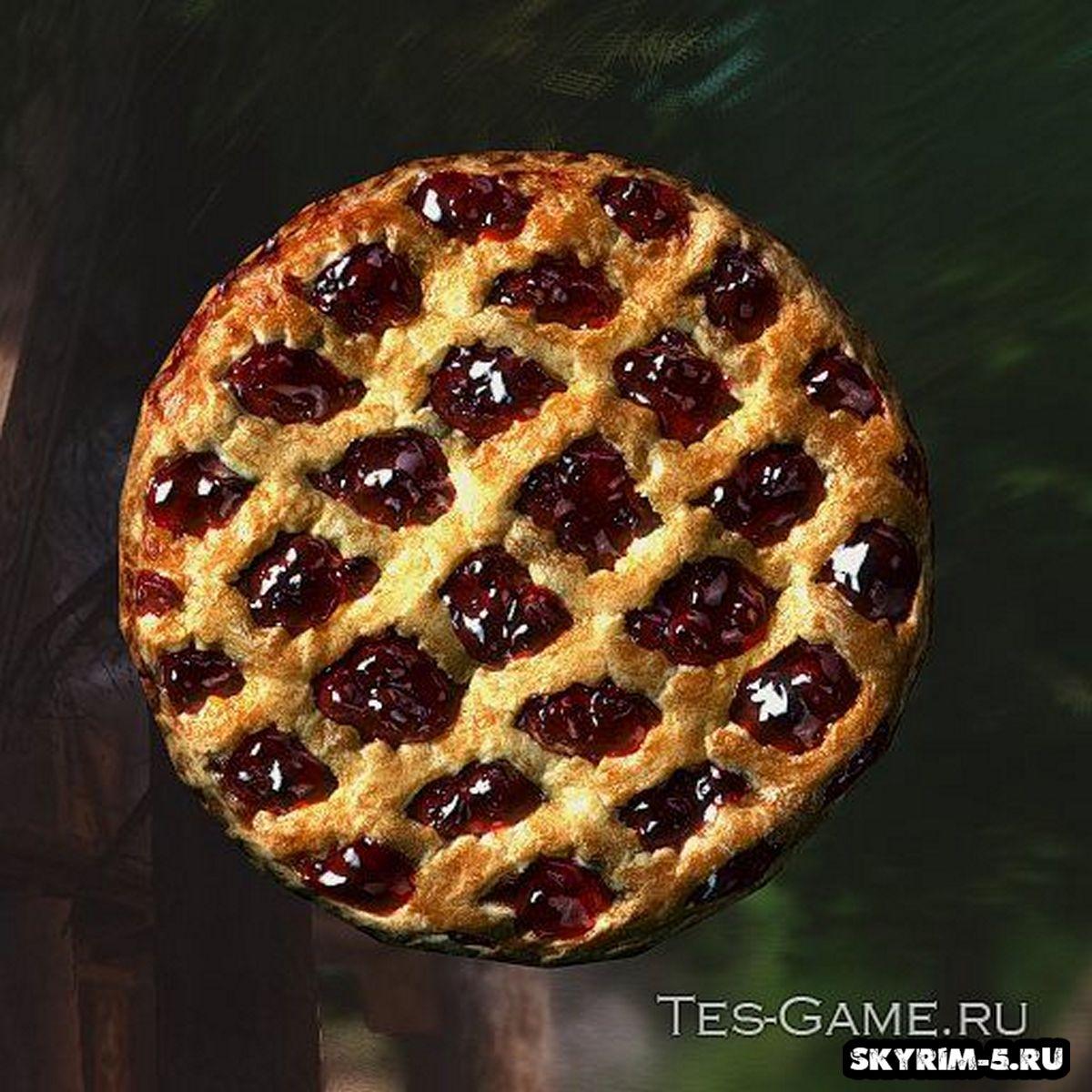 HD 1K ретекстур пирога -