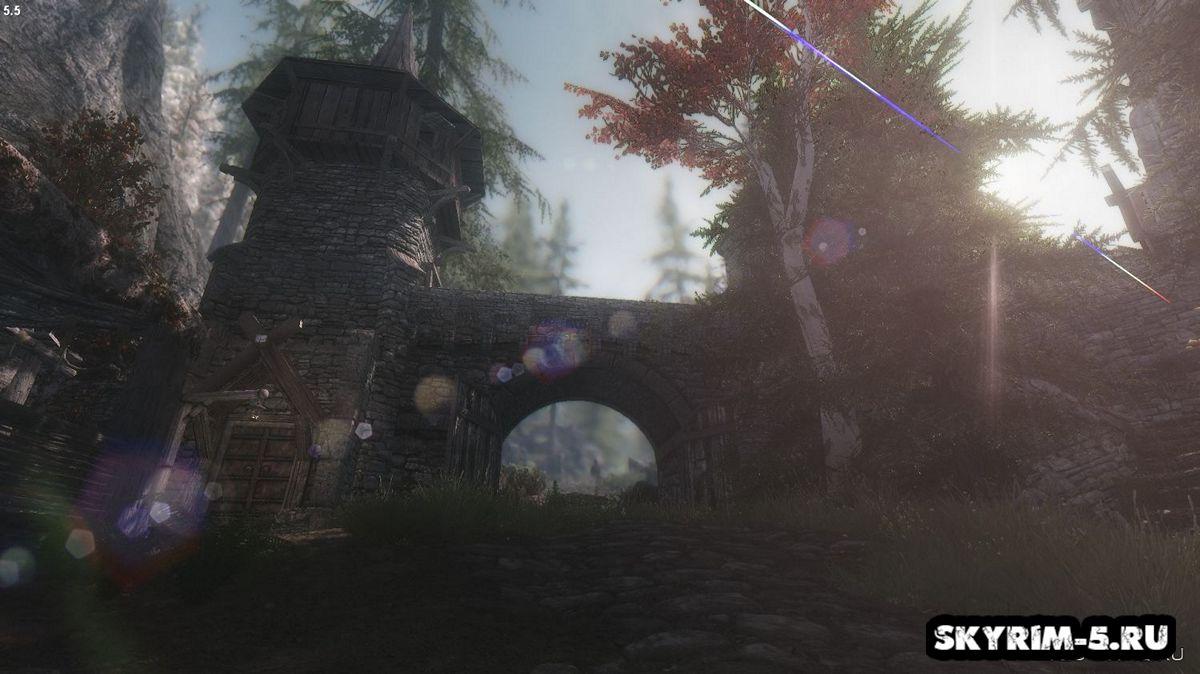 Драконий мост от ClefJ'sМоды Скайрим > Дома и локации Скайрим