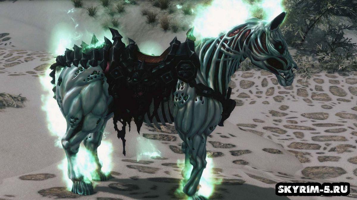 Отчаяние - Ездовая лошадьМоды Скайрим > Ездовые животные Скайрим