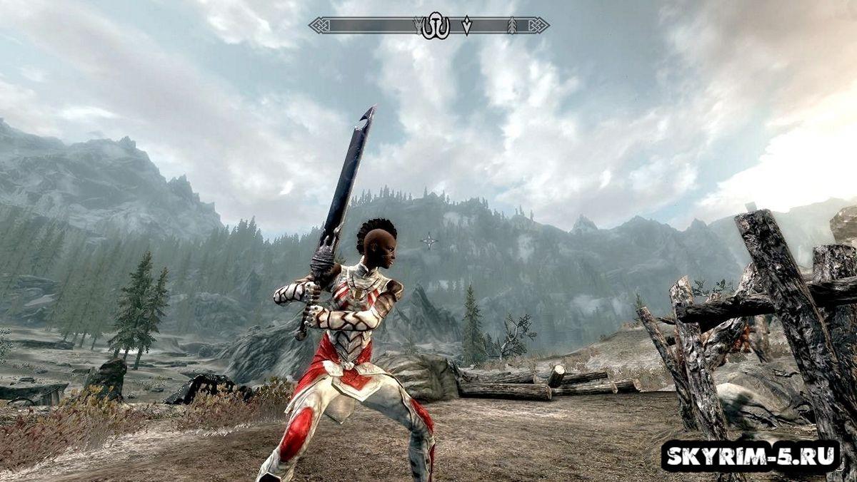 Двуручный меч тьмы -