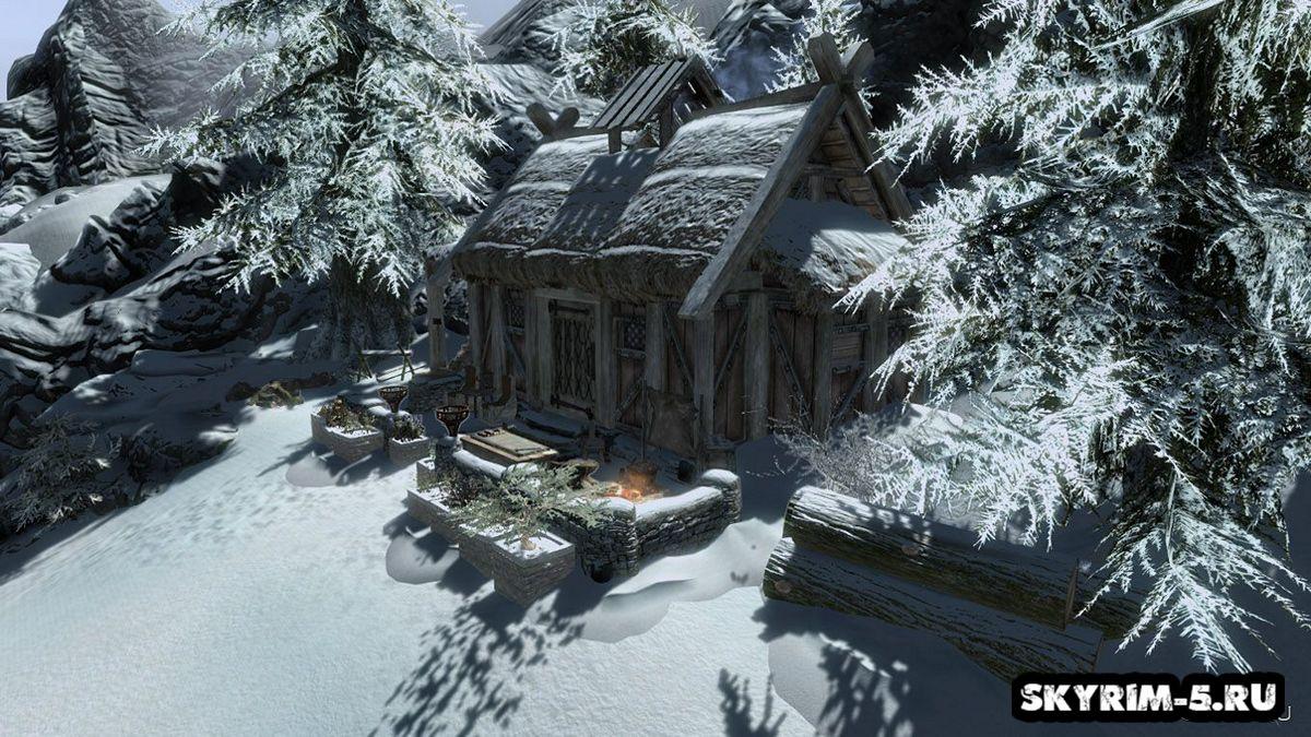 Убежище ТураМоды Скайрим > Дома и локации Скайрим