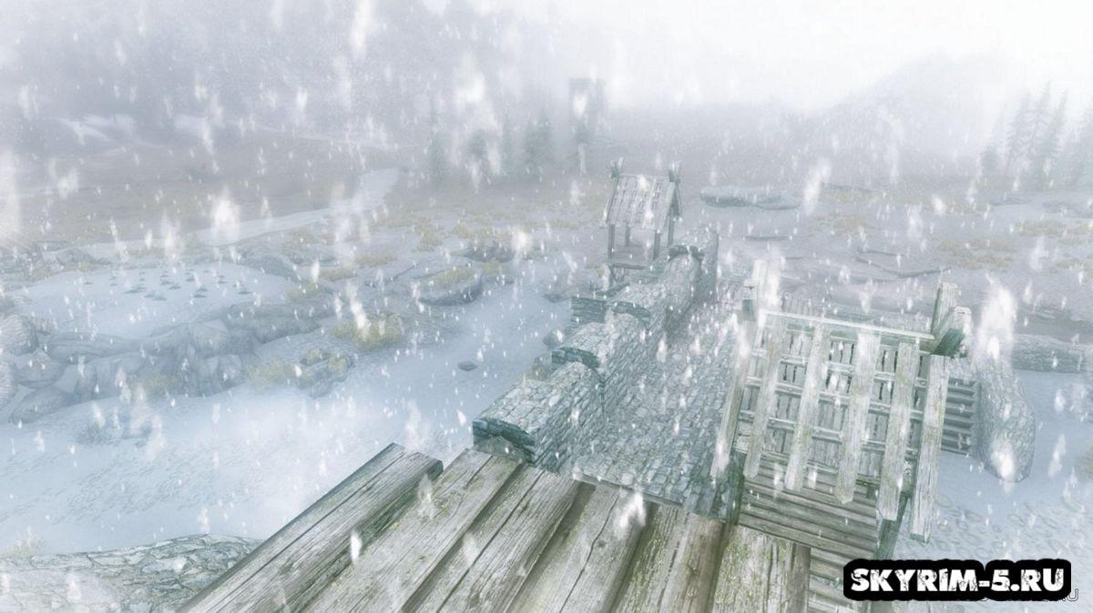 Снежный Скайрим -