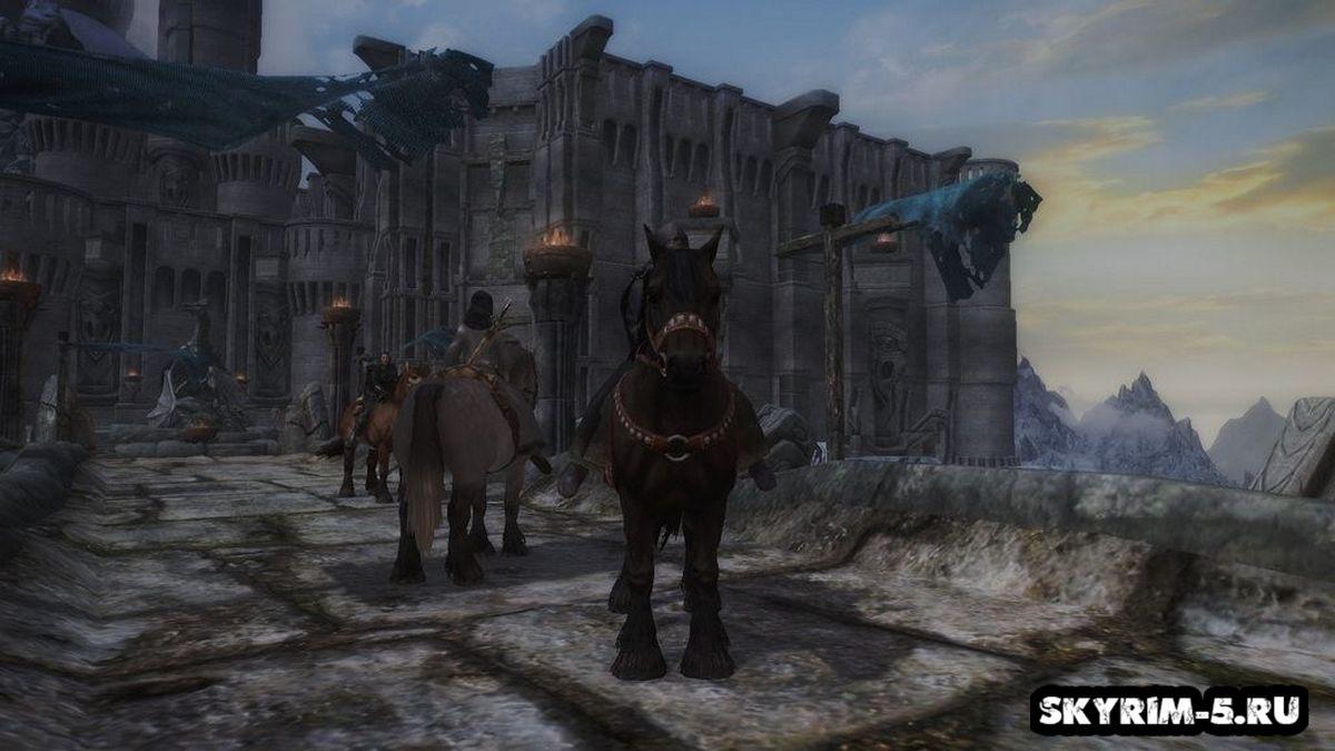 [SFM] Спутники на лошадях -