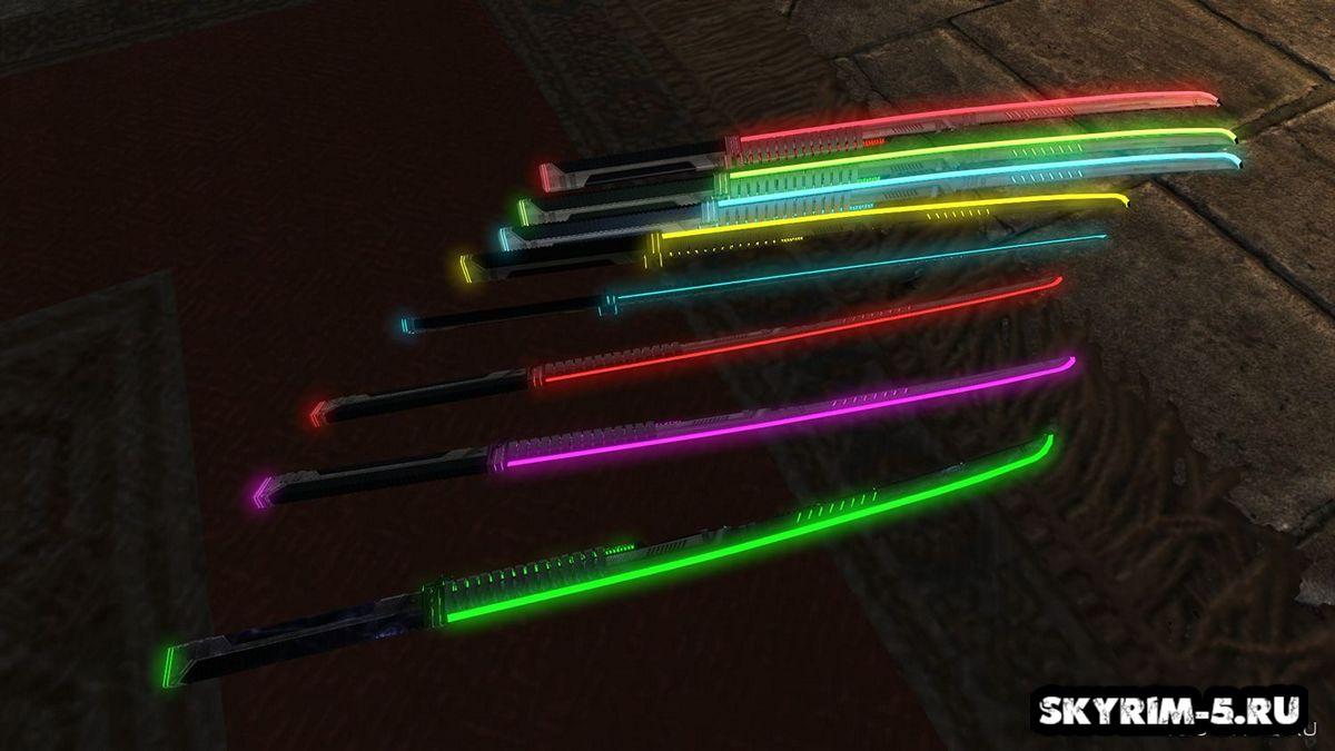 AE-86 лазерные мечи