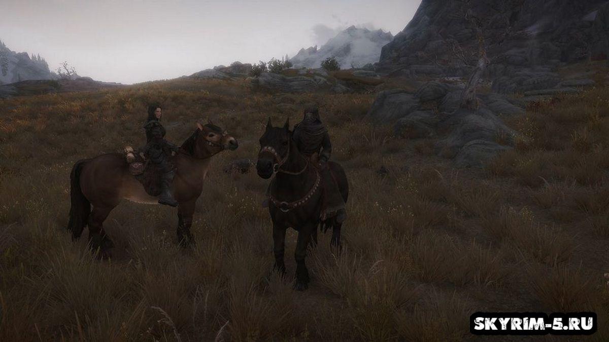 [SFM] Спутники на лошадяхМоды Скайрим > Геймплей Скайрим