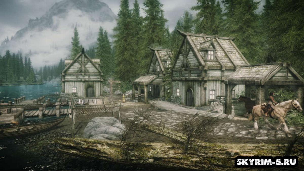 Новая деревня Оквуд / Places Oakwood