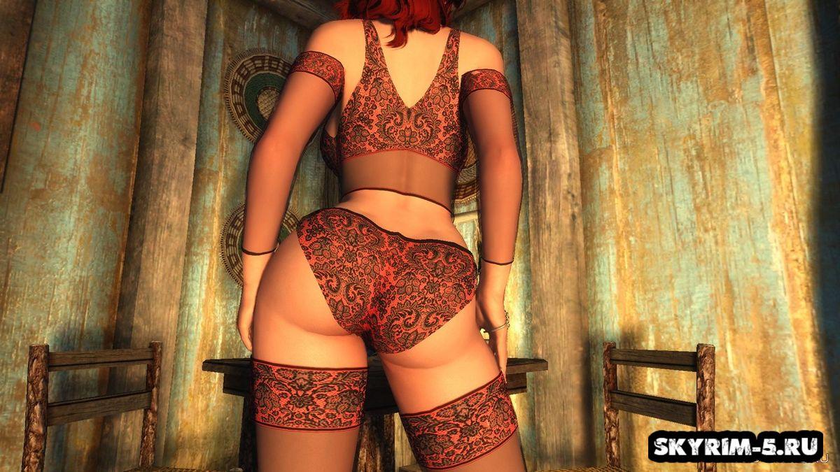 Мод на сексуальное нижнее белье в скайрим каталог роликовых массажеров