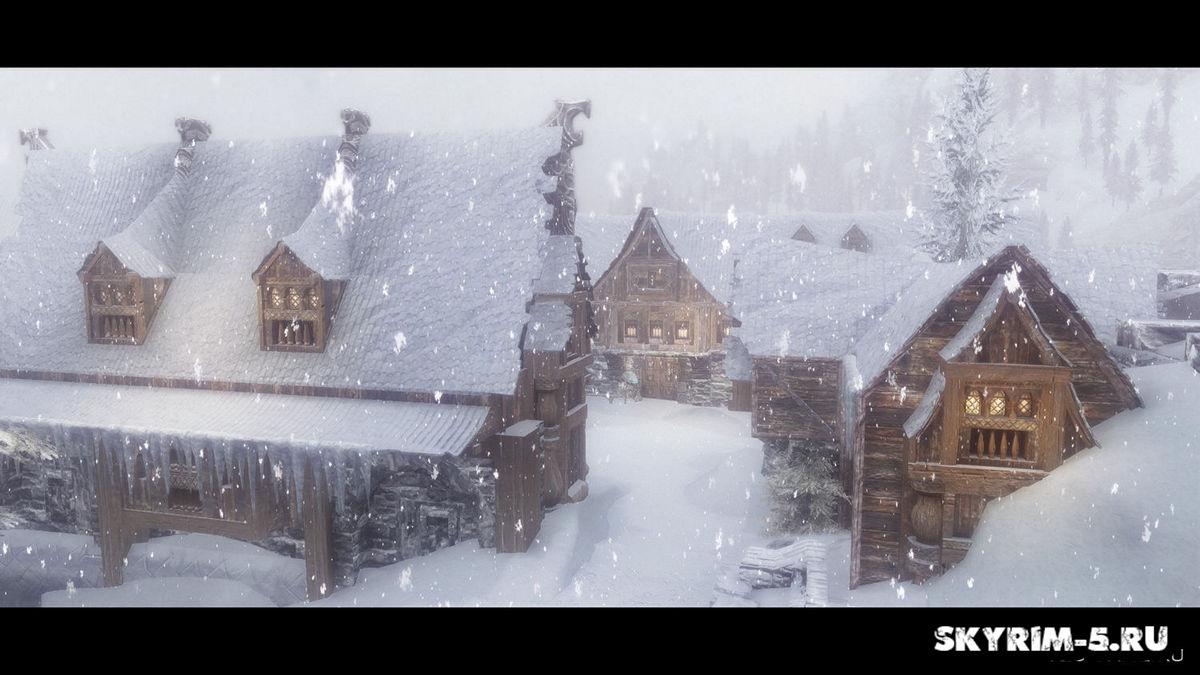 Снежный ВиндхельмМоды Скайрим > Дома и локации Скайрим