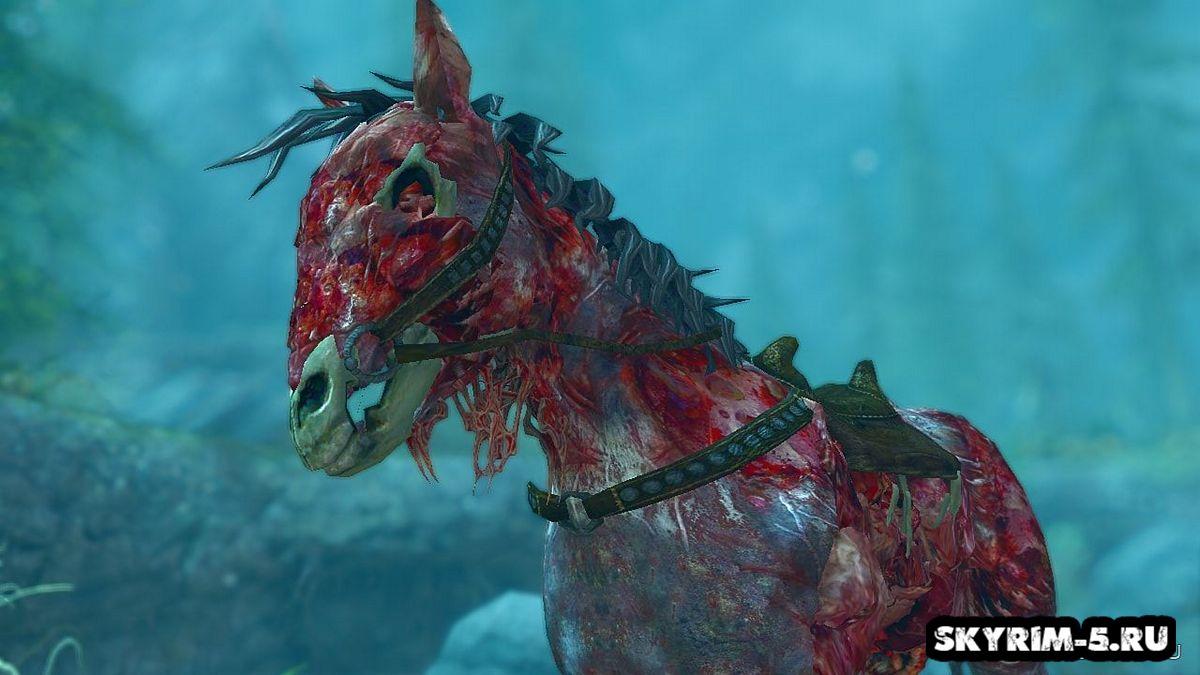Лошадь-зомби