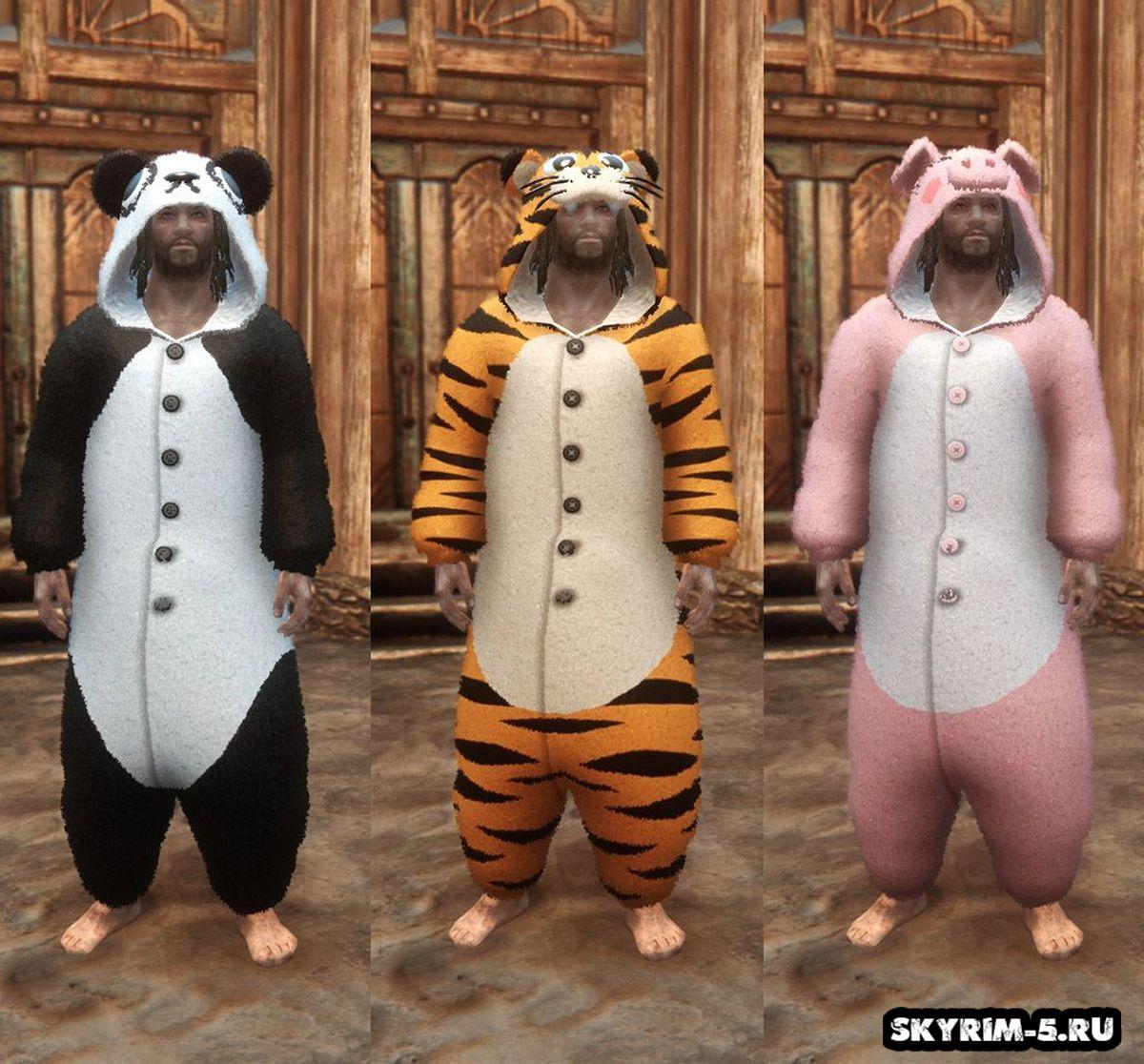 Пижамы животных -