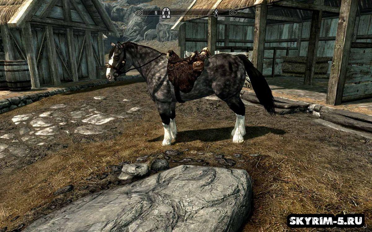 Новая модель и текстуры лошадей -